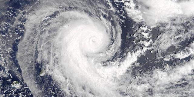 cyclone in indian ocean